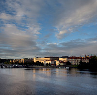Evening Light on the Vltava