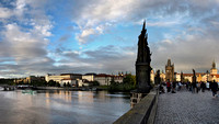 Magic Hour on Charles Bridge