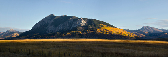 Crested Butte in Morning Light