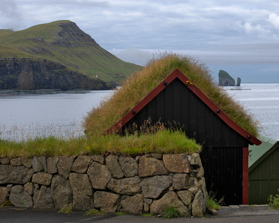 Grass Roofs of Faroe Islands - 1