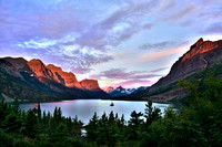 Sunrise at Saint Mary Lake, MT