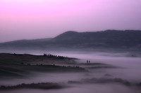 Fog at Sunrise near San Quirico