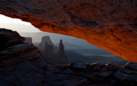 Mesa Arch at Sunrise - Close-up