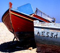Greek Fishing Boats - Rhodes
