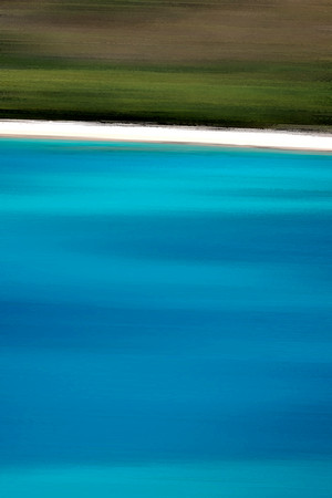 Maho Bay Abstract