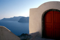 Red Door - Santorini